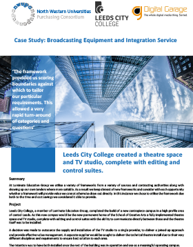 Case Study: Broadcasting Equipment and Integration Services